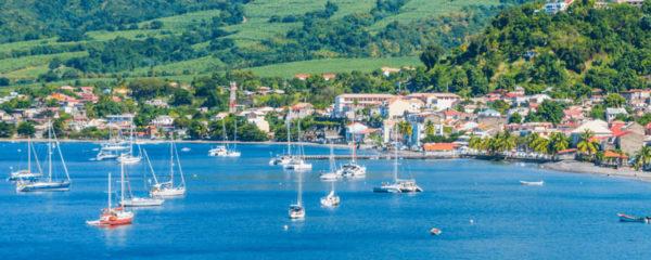 Photo de la Montagne Pelée en Martinique